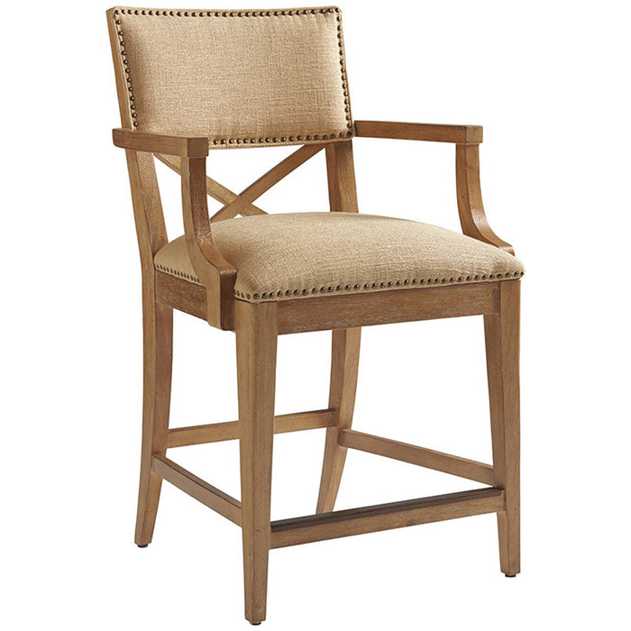 Tommy Bahama Los Altos Sutherland Upholstered Counter Stool