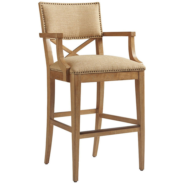 Tommy Bahama Los Altos Sutherland Upholstered Bar Stool