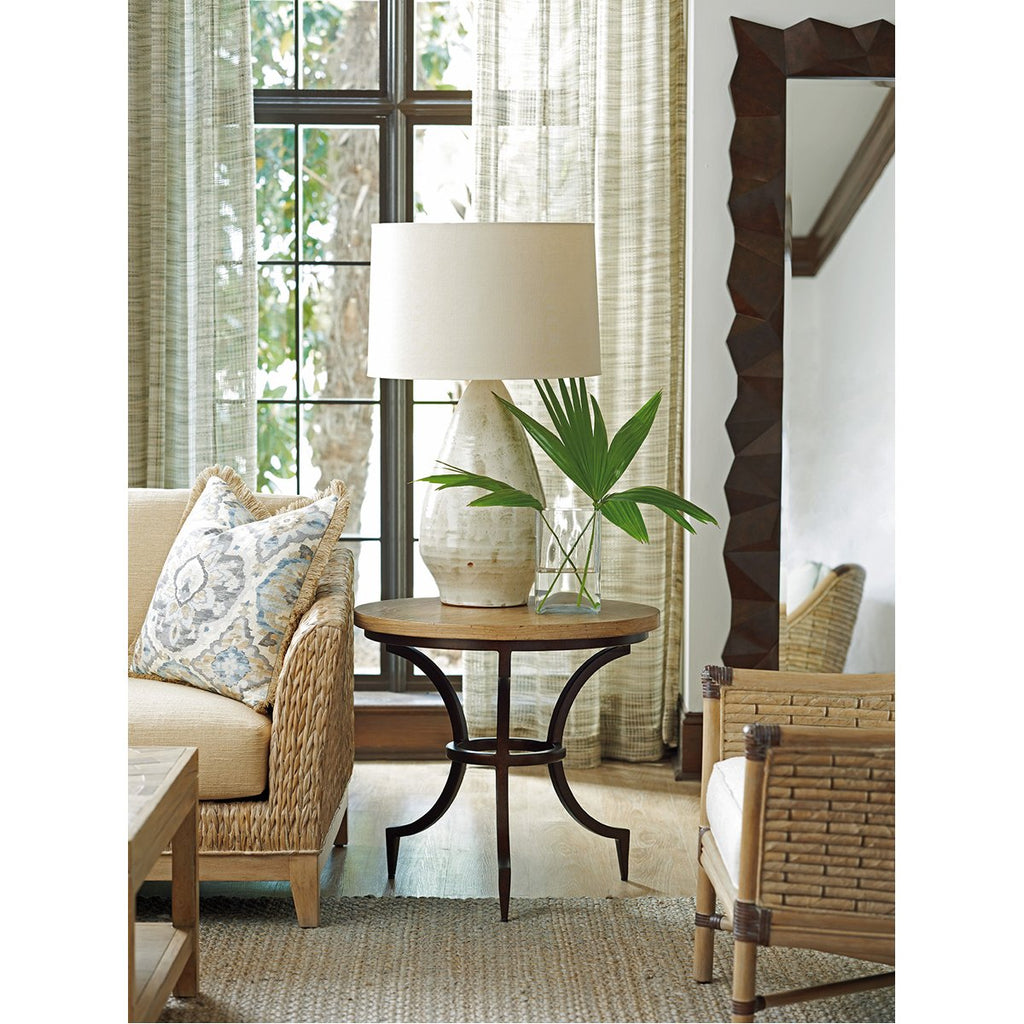 Tommy Bahama Los Altos Flemming Round End Table