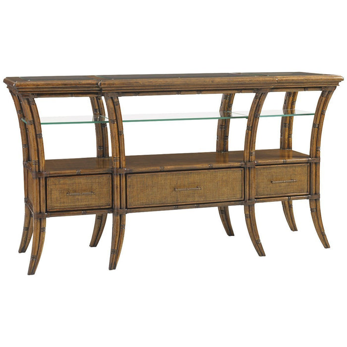 Tommy Bahama Bali Hai Medium Brown Oyster Reef Sideboard