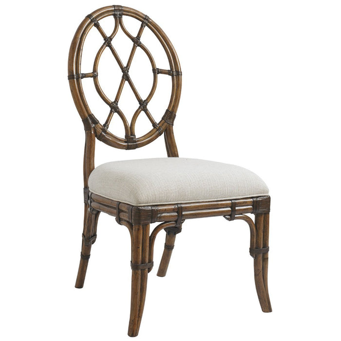 Tommy Bahama Bali Hai Cedar Key Oval Back Side Chair