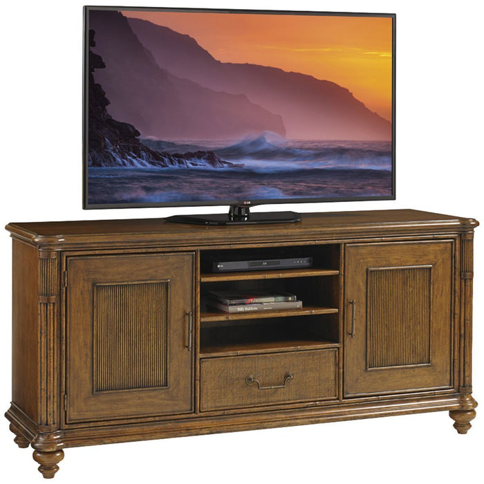 Tommy Bahama Bali Hai Medium Brown Pelican Cay Media Console