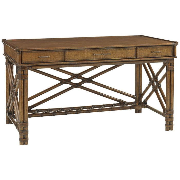 Tommy Bahama Bali Hai Medium Brown Enchanted Isle Desk