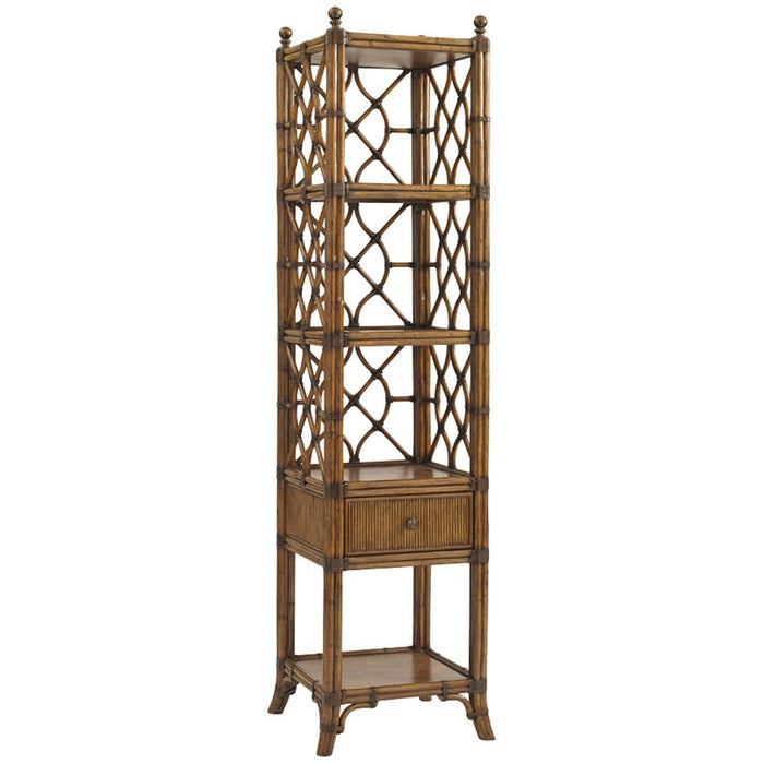 Tommy Bahama Bali Hai Medium Brown Atlantis Etagere