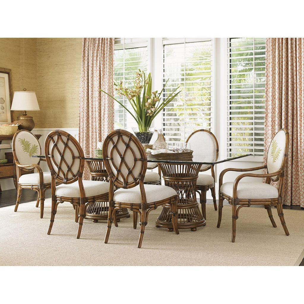 Tommy Bahama Bali Hai Gulfstream Oval Back Side Chair