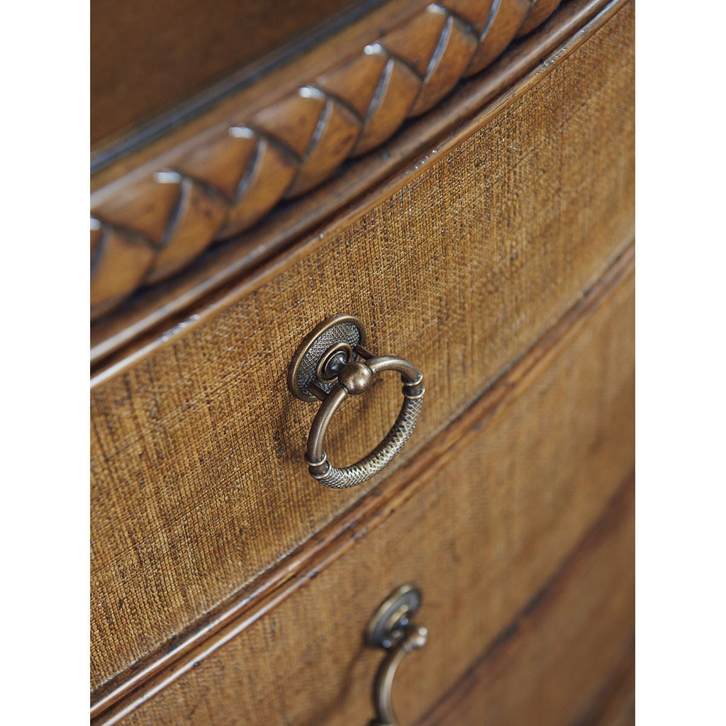 Tommy Bahama Bali Hai Medium Brown Silver Sands Bachelor'S Chest