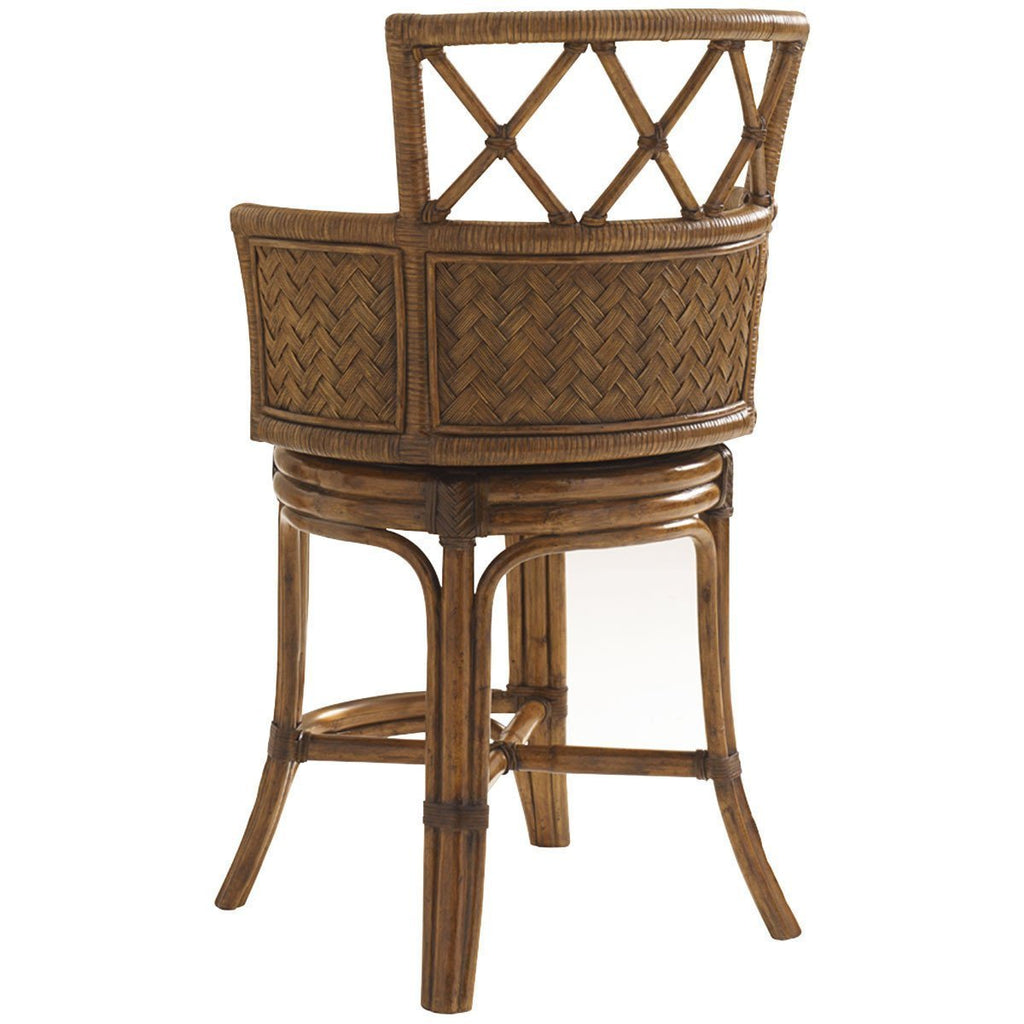Tommy Bahama Bali Hai Kamala Bay Swivel Counter Stool