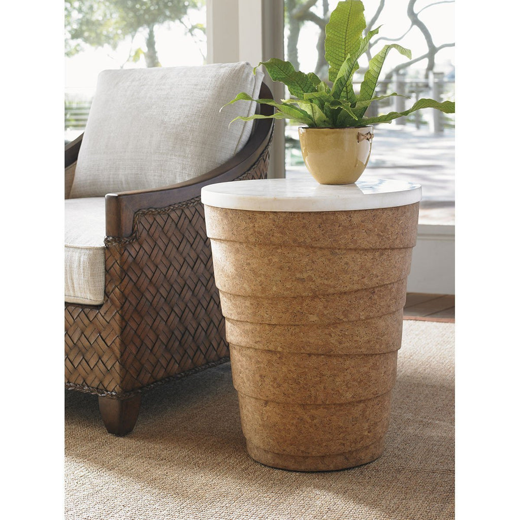 Tommy Bahama Island Fusion Kendari Round Accent Table