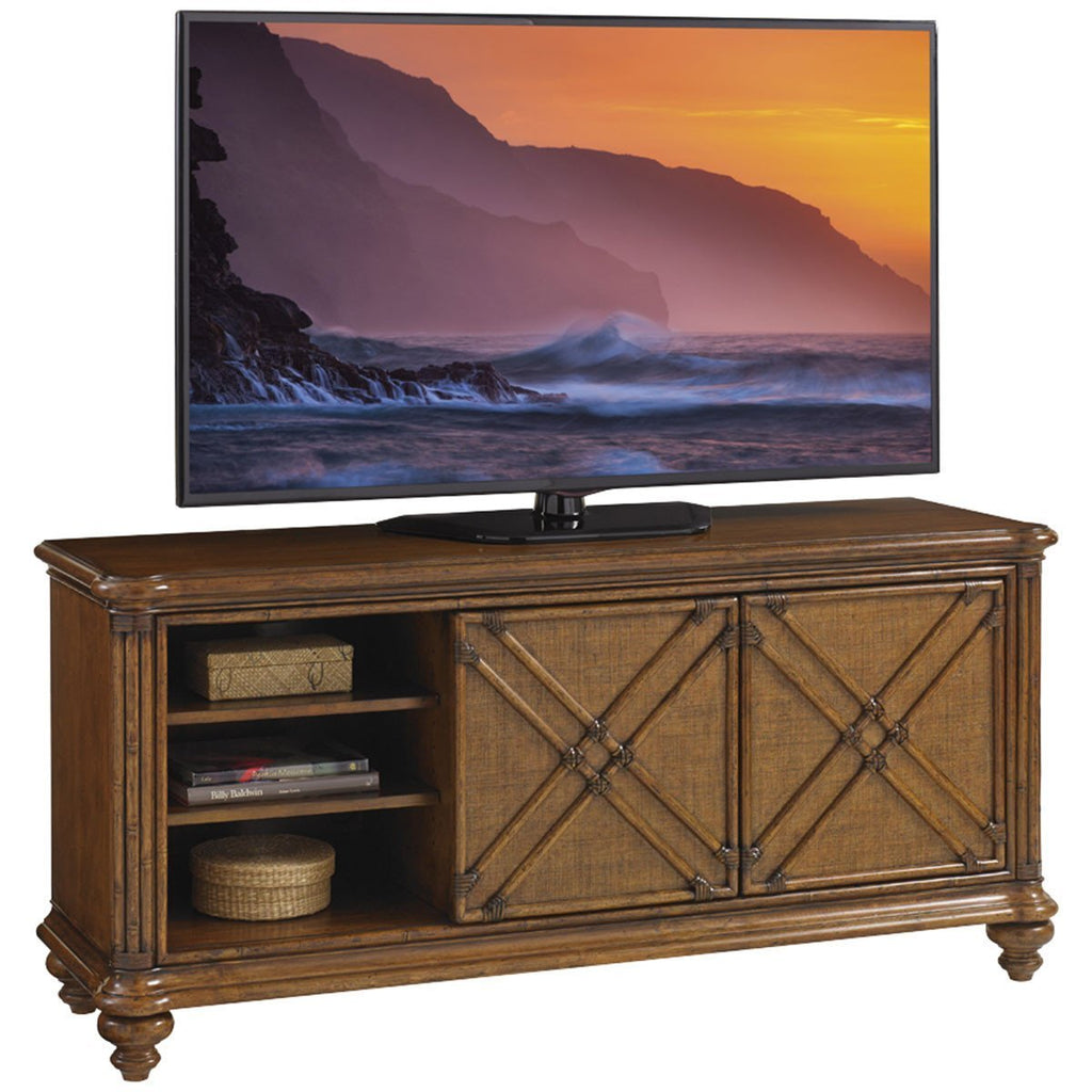 Tommy Bahama Bali Hai Medium Brown Marlin Media Console