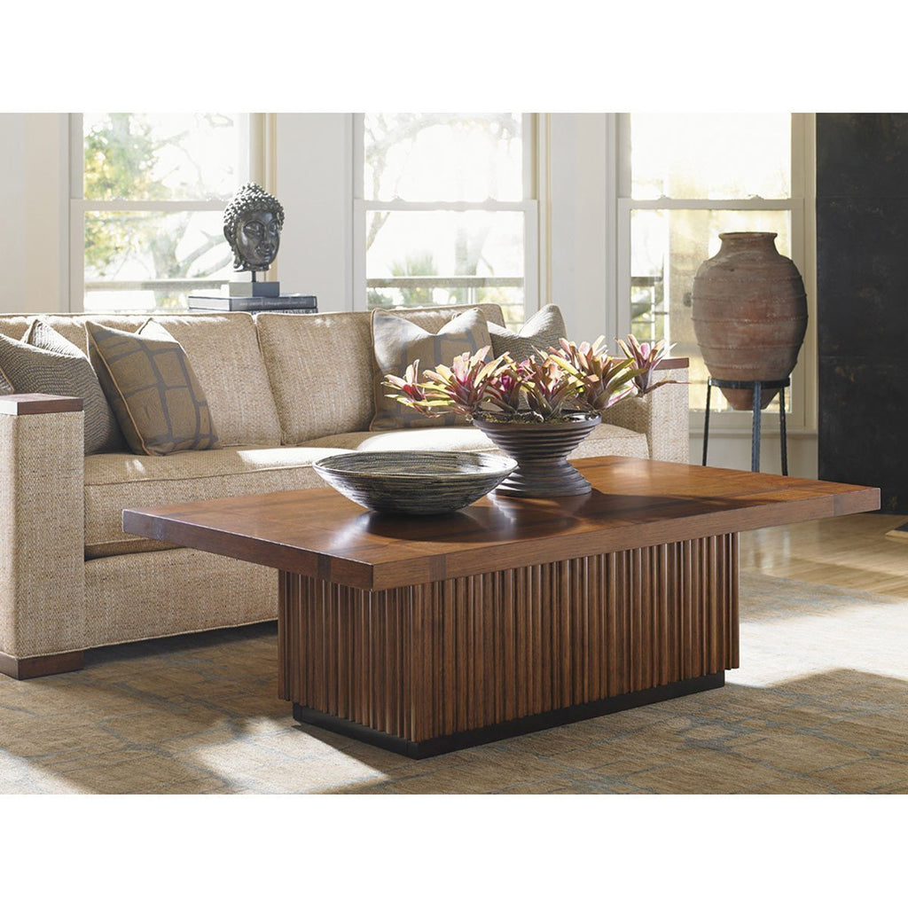 Tommy Bahama Island Fusion Castaway Rectangular Cocktail Table