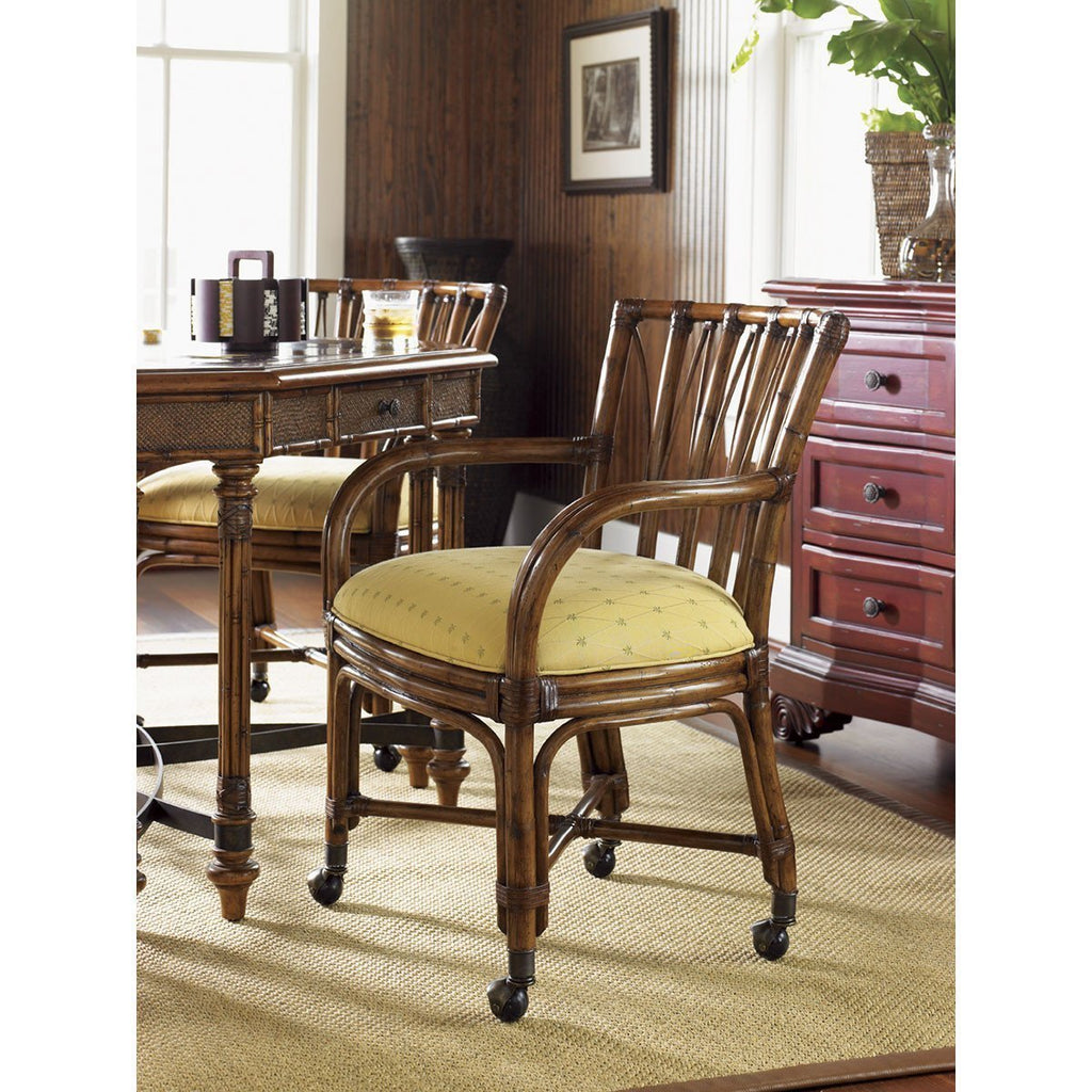 Tommy Bahama Island Estate Game Chairs Plantation Benjamin Rugs