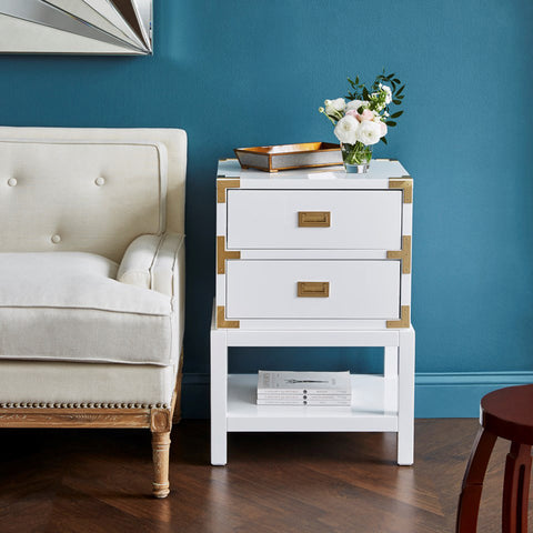 Bungalow 5 Tansu 2 Drawer Side Table