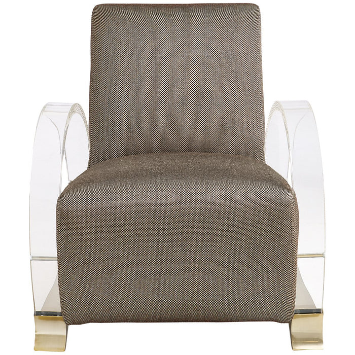 Caracole Upholstery Arch Support Chair