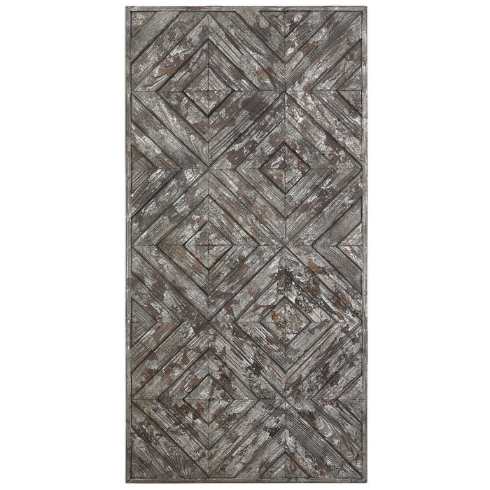 Uttermost Roland Wood Panel Wall Art