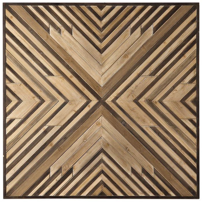 Uttermost Floyd Wooden Wall Art