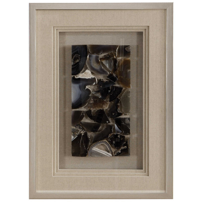 Uttermost Seana Agate Stone Shadow Box