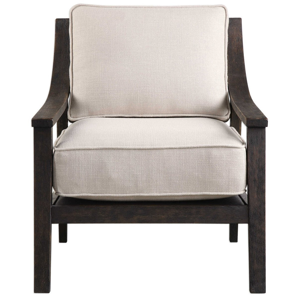 Uttermost Lyle Beige Accent Chair Chairs Ottomans Benjamin
