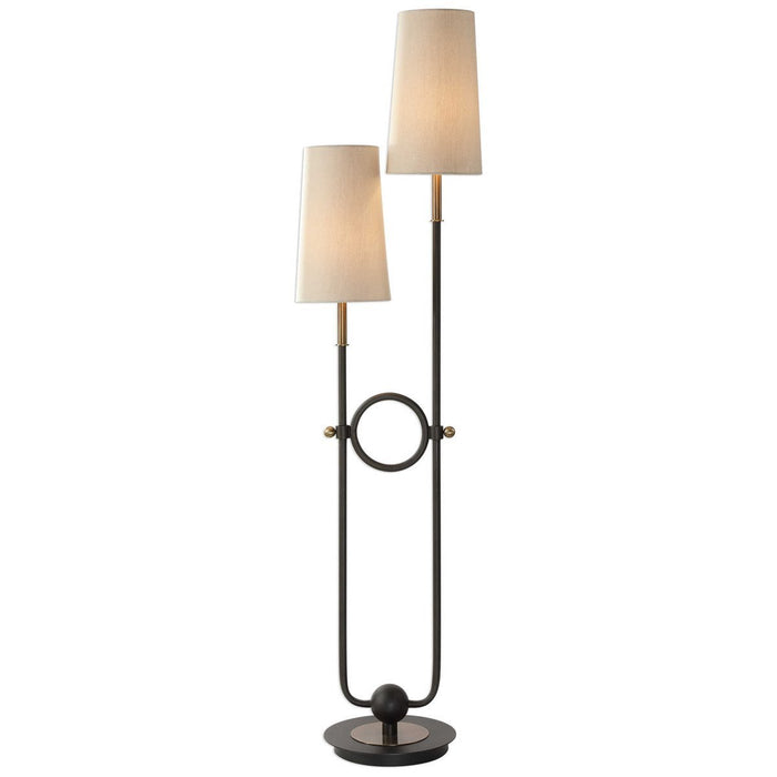 Uttermost Riano 2-Arm 2-Light Floor Lamp