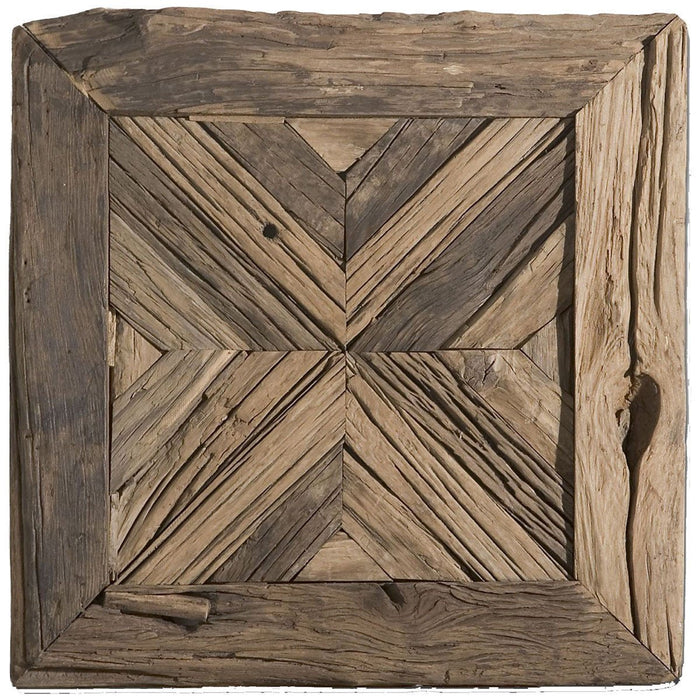 Uttermost Rennick Reclaimed Wood Wall Art 04014