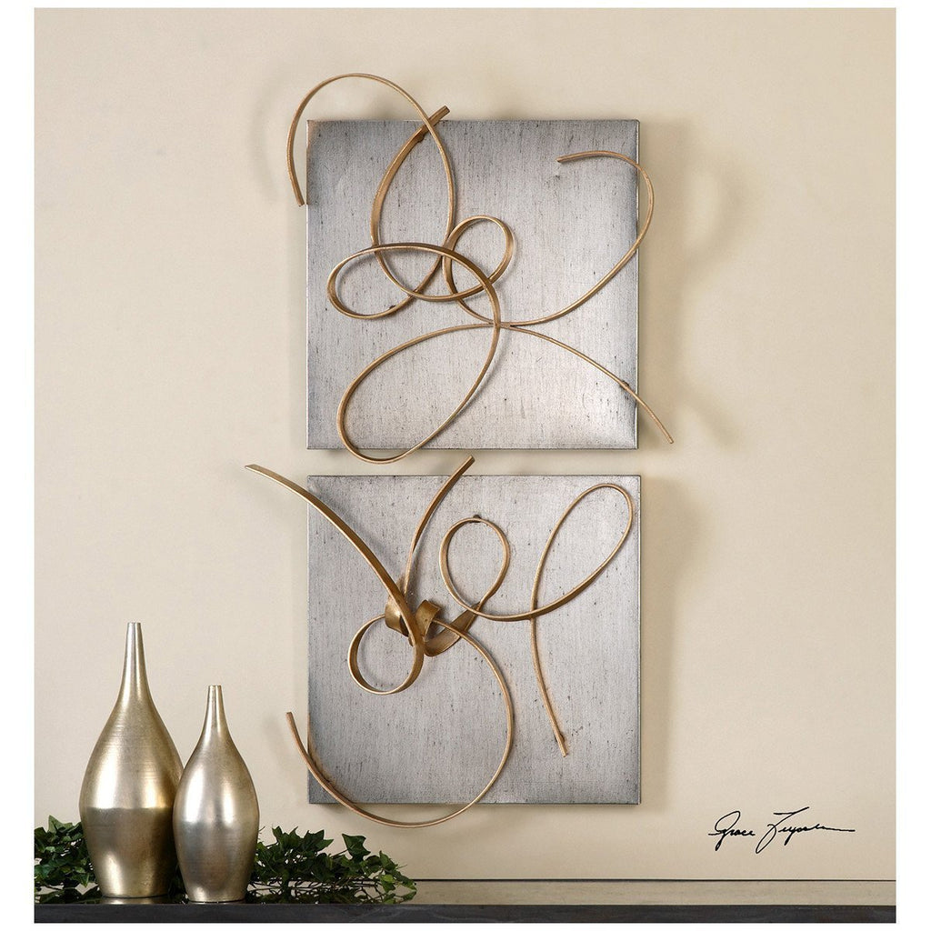 Uttermost Set of 2 Harmony Metal Wall Art