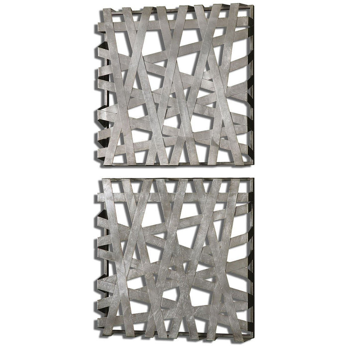 Uttermost Alita Squares Wall Art Set of 2 07676