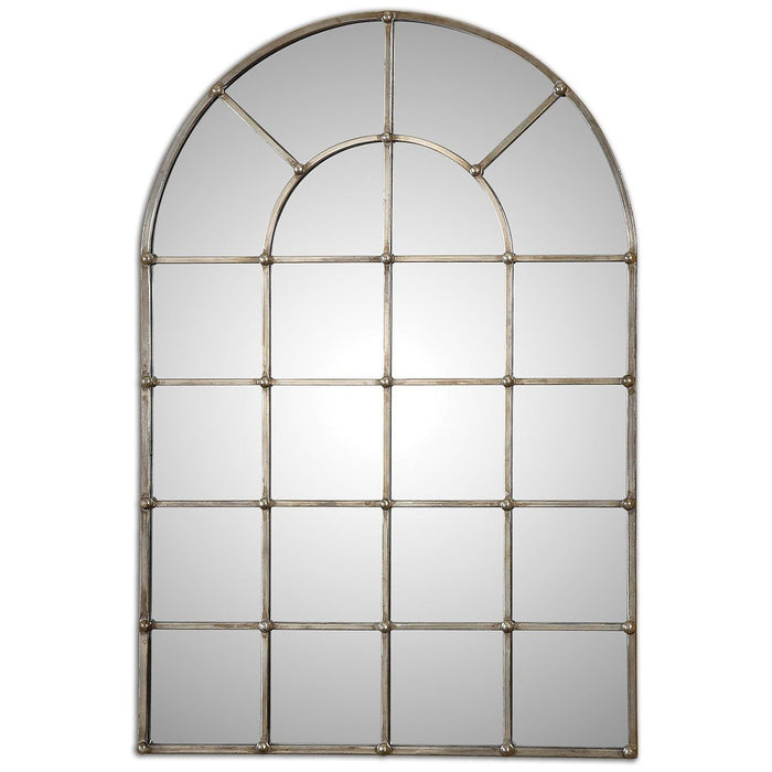 Uttermost Barwell Arch Window Mirror 12875