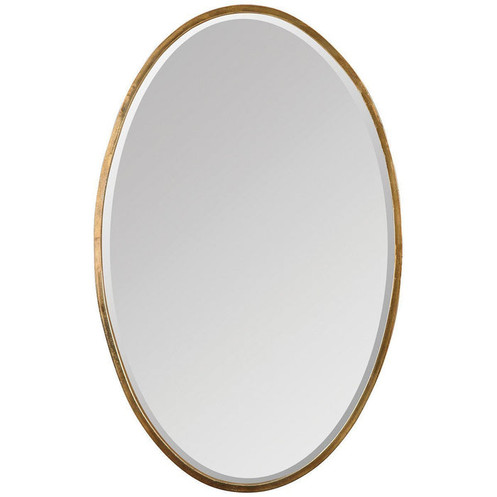 Uttermost Herleva Gold Oval Mirror