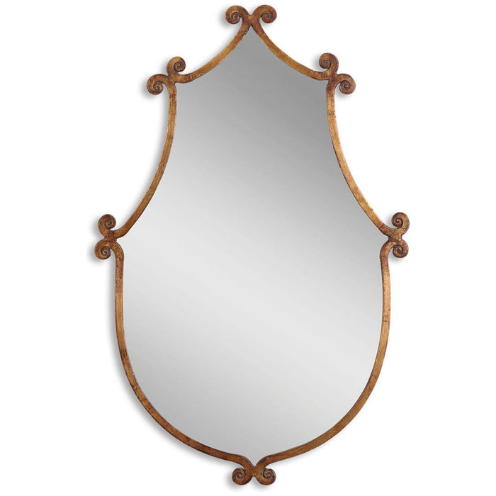 Uttermost Ablenay Antique Gold Mirror 13648