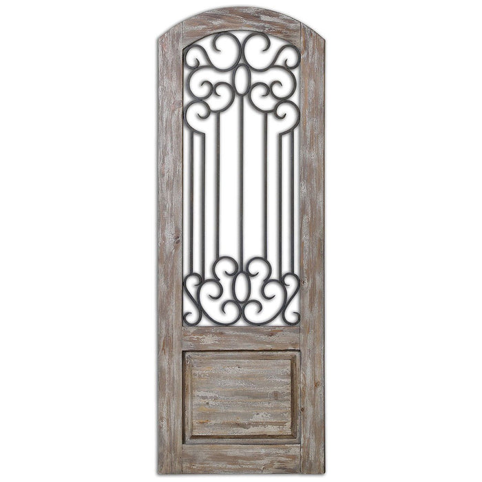 Uttermost Mulino Distresed Wall Panel 13861