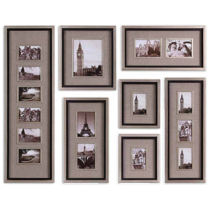 Uttermost Massena Photo Frame Collage, Set of 7 14458