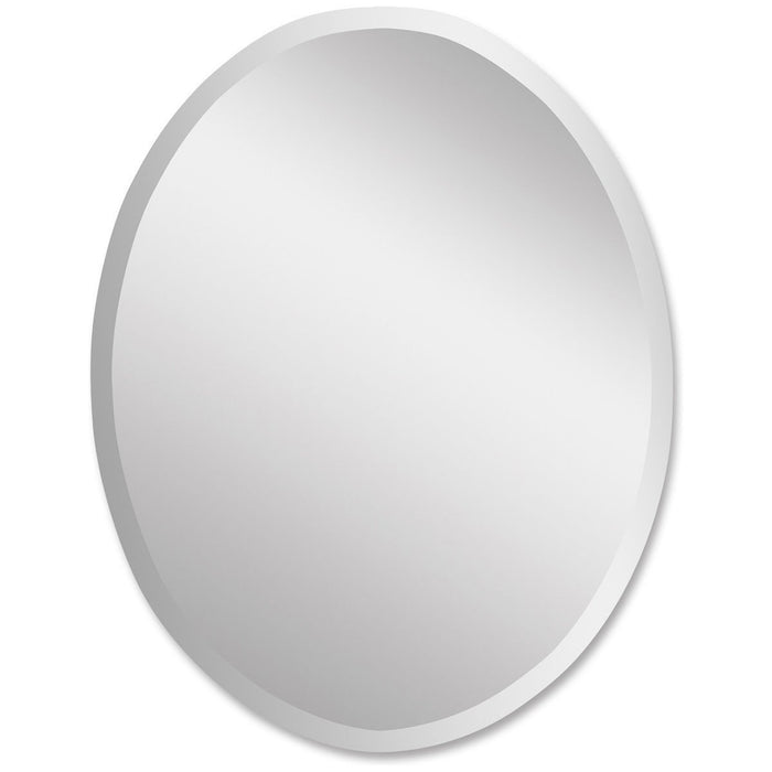 Uttermost Frameless Large Oval Mirror 19590 B