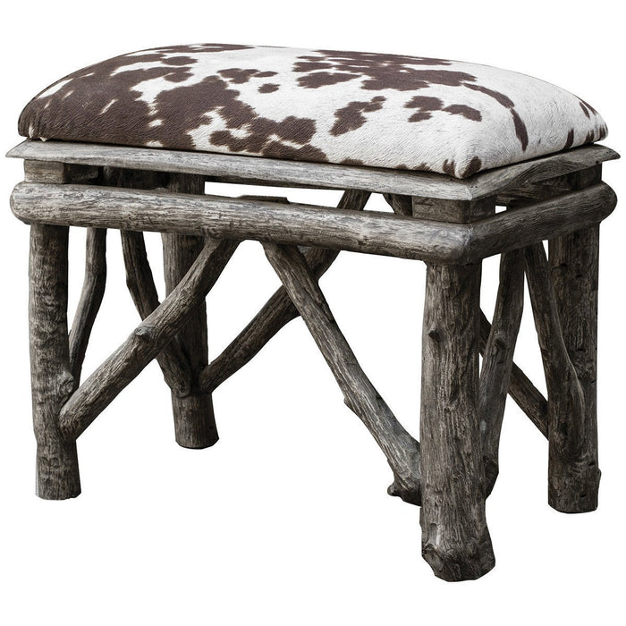 Uttermost Chavi Weathered Driftwood Small Bench