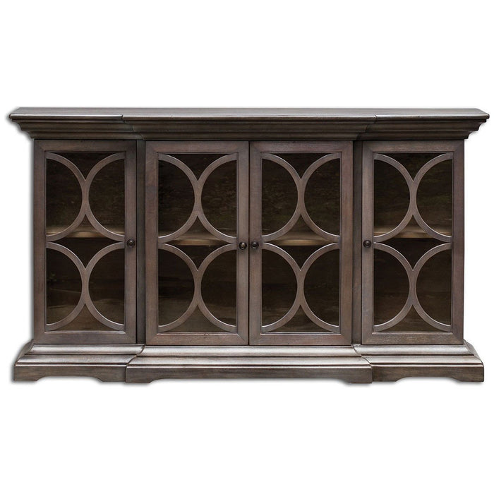 Uttermost Belino Wooden 4 Door Chest 25629