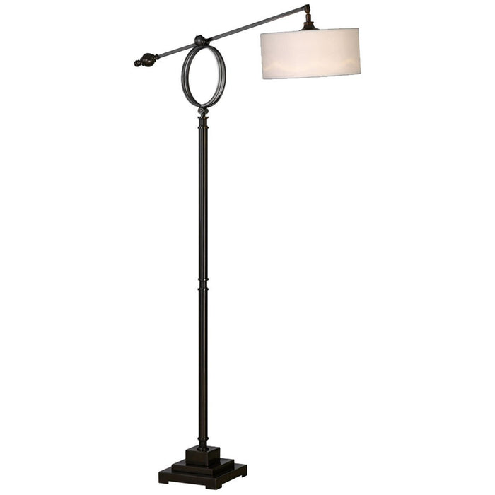 Uttermost Levisa Brushed Dark Bronze Floor Lamp