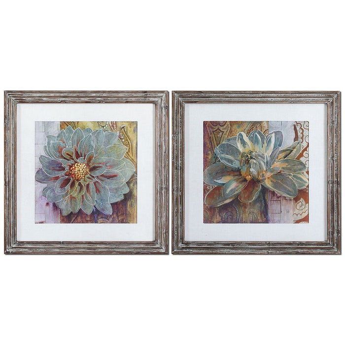 Uttermost Sublime Truth Floral Art, Set of 2 34036