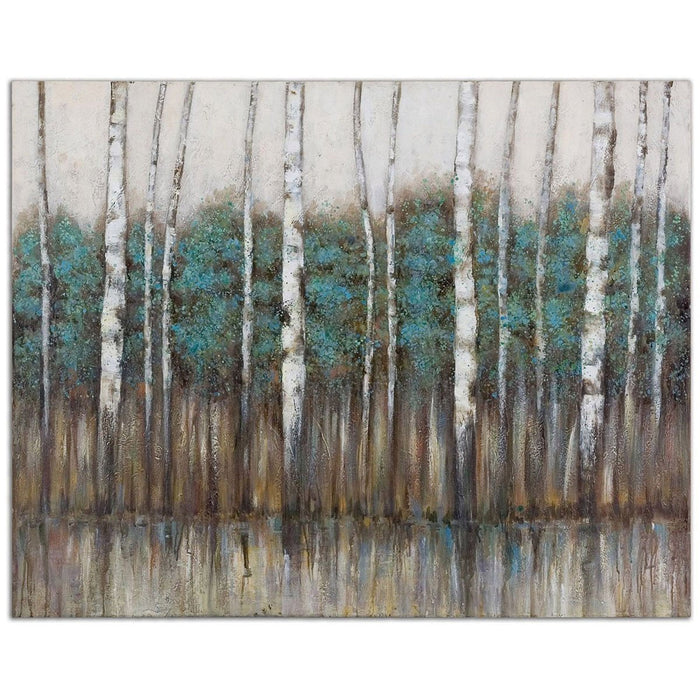 Uttermost Edge Of The Forest Canvas Art 34284
