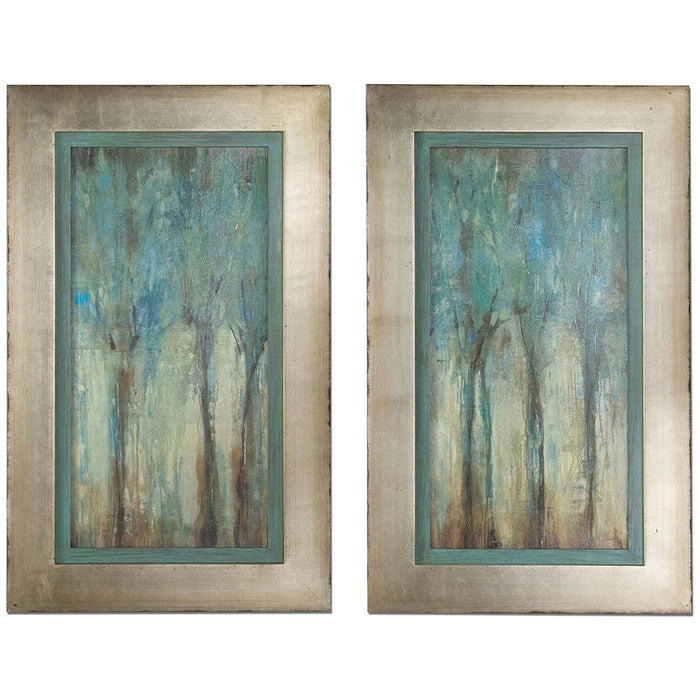 Uttermost Whispering Wind Framed Art, Set of 2 41410
