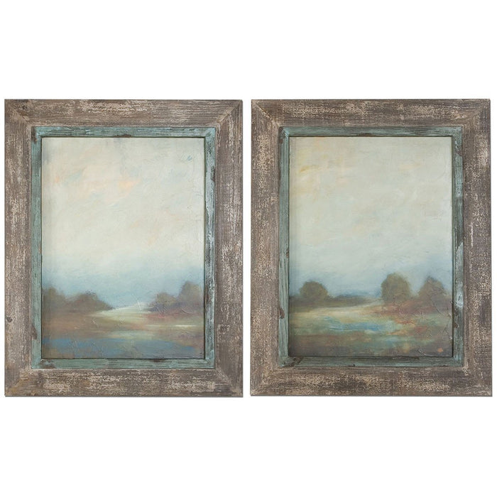 Uttermost Morning Vistas Framed Art, Set of 2 51076