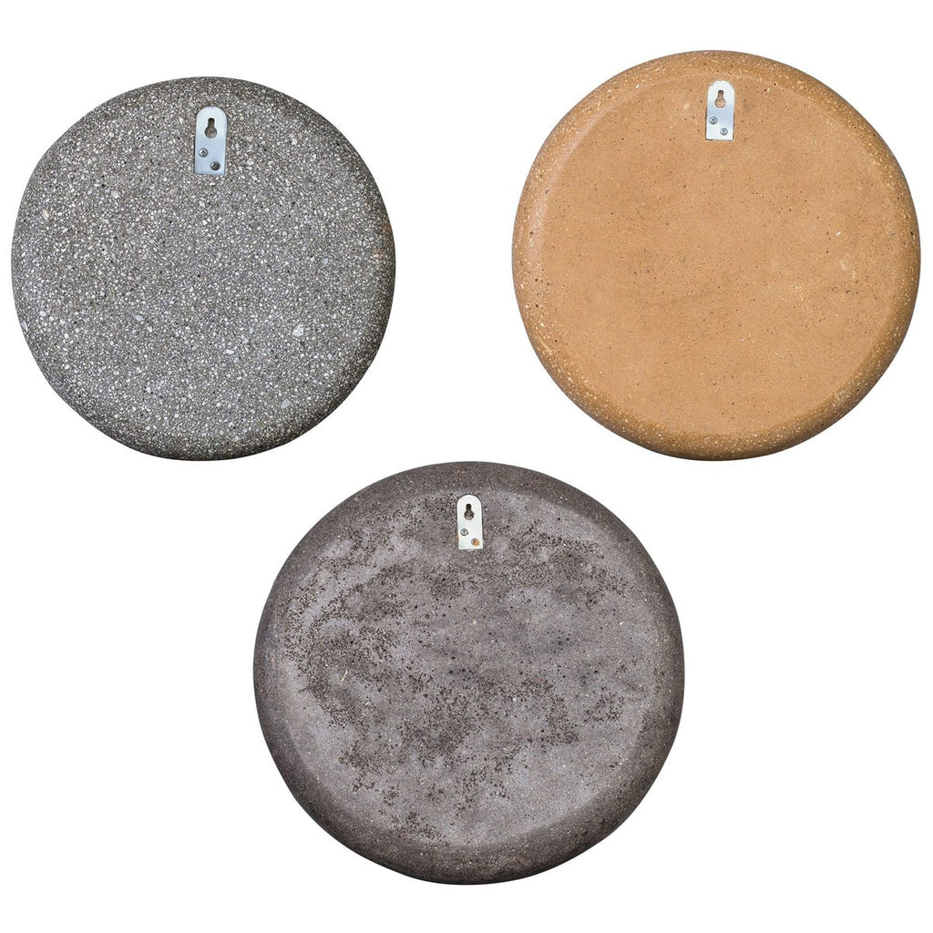 Uttermost Gaia Stone Plate Wall Decor, 3-Piece Set
