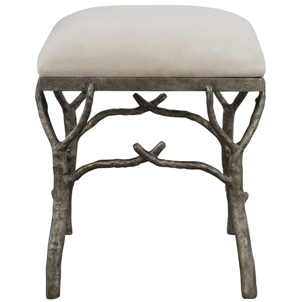 Uttermost Lismore Small Fabric Bench