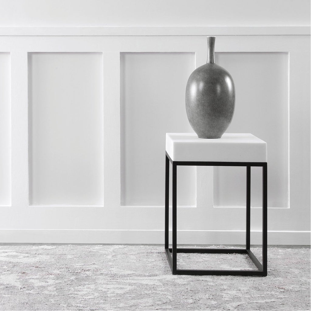 Uttermost Gambia Marble Accent Table