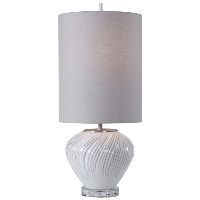 Uttermost Lucerne White Buffet Lamp