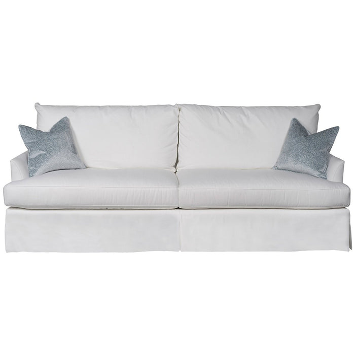 Vanguard Furniture Lombardi Waterfall Skirt Extended Sofa