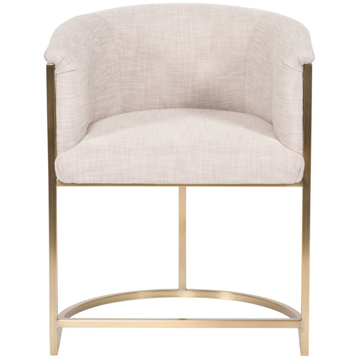 Vanguard Furniture Skye Plain Back Metal Chair