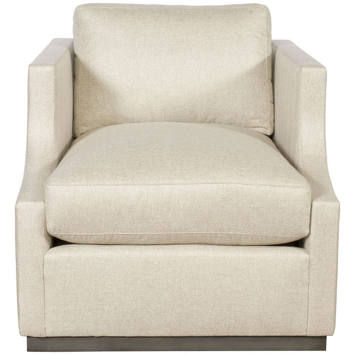Vanguard Furniture Nuzzle Linen Willowbrook Swivel Chair