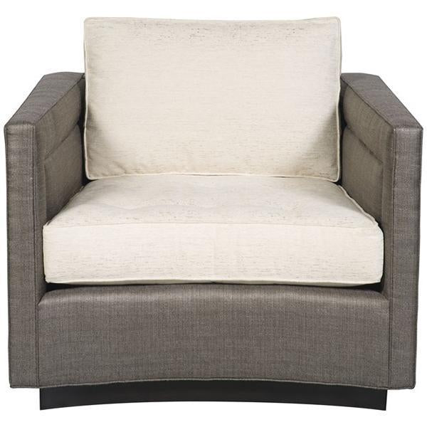 Vanguard Furniture Henderson Harbor Button Tufted Seat Swivel Chair