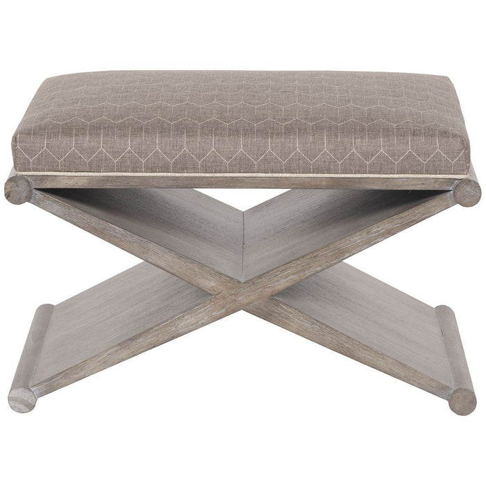 Vanguard Furniture Noa Hemp Lafayette Bench