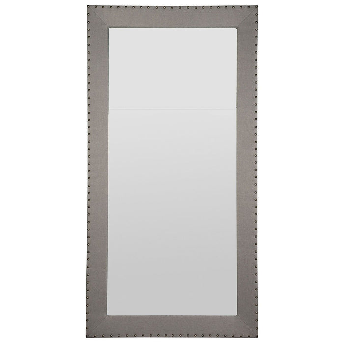 Vanguard Furniture Corinthian Club Upholstered Floor Mirror 9404-MI