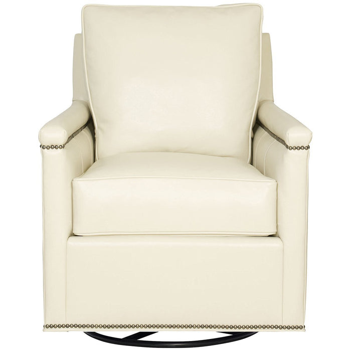 Vanguard Furniture Ambition Cream Liz Swivel Glider