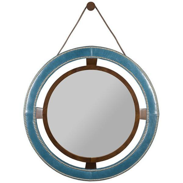 Vanguard Furniture Robineau Road Upholstered Round Mirror L9400-MI